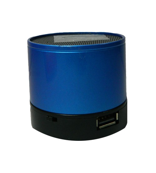 Tiger Bluetooth Speaker, Chargeable Battery, USB, Memory Card, High Quality, Blue Color